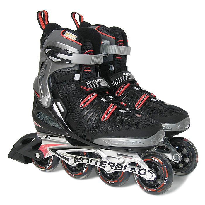rollerblade spark t 80 alu gr 42 5 herren inlineskates. Black Bedroom Furniture Sets. Home Design Ideas