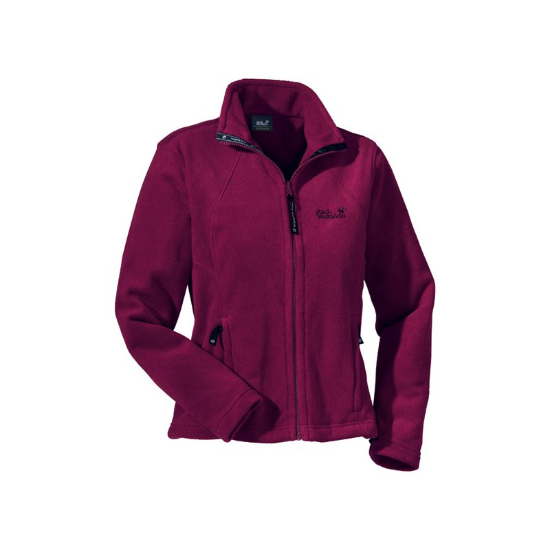 jack wolfskin moonrise jacket damen fleecejacke aus polartec classic 150 lila ebay. Black Bedroom Furniture Sets. Home Design Ideas