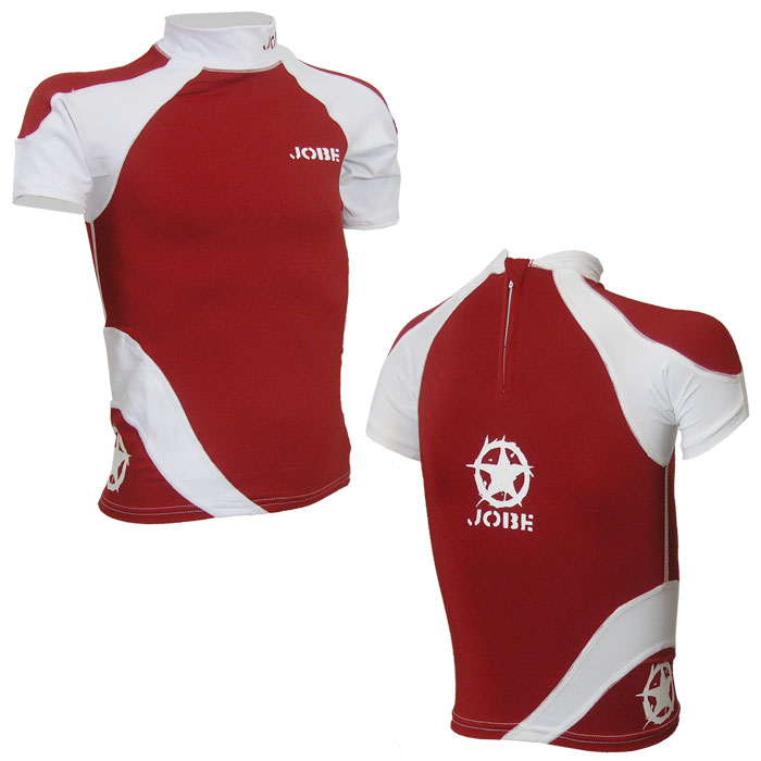 Jobe rash guard shirt kids gr xxxs xs baby lycra surfen ebay for Baby rash guard shirt
