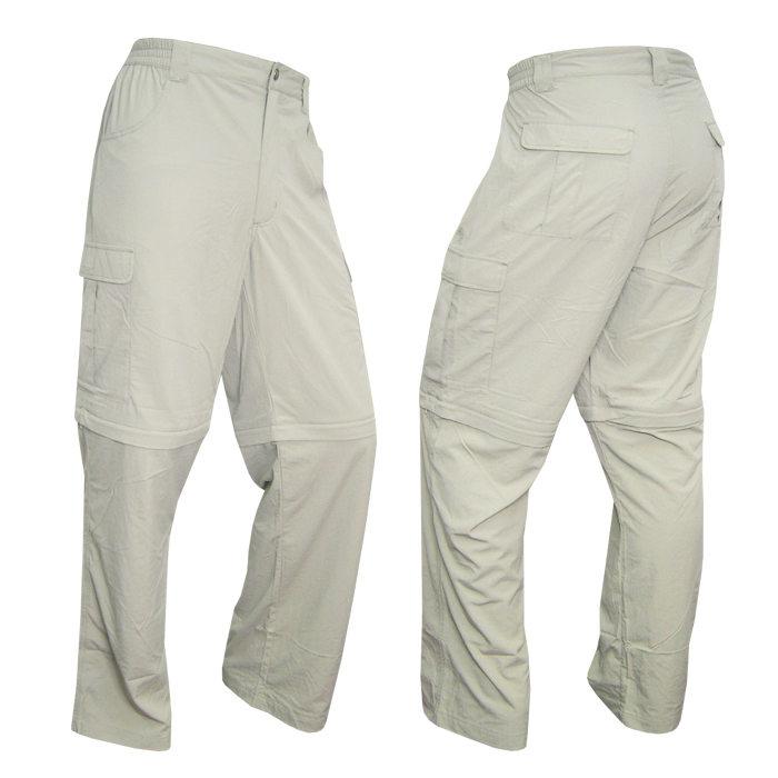 salewa trail dry 2 in 1 gr 54 herren zip off trekkinghose wanderhose beige grau ebay. Black Bedroom Furniture Sets. Home Design Ideas